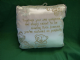 Me To You Tatty Teddy verse wedding cushion cream and gold